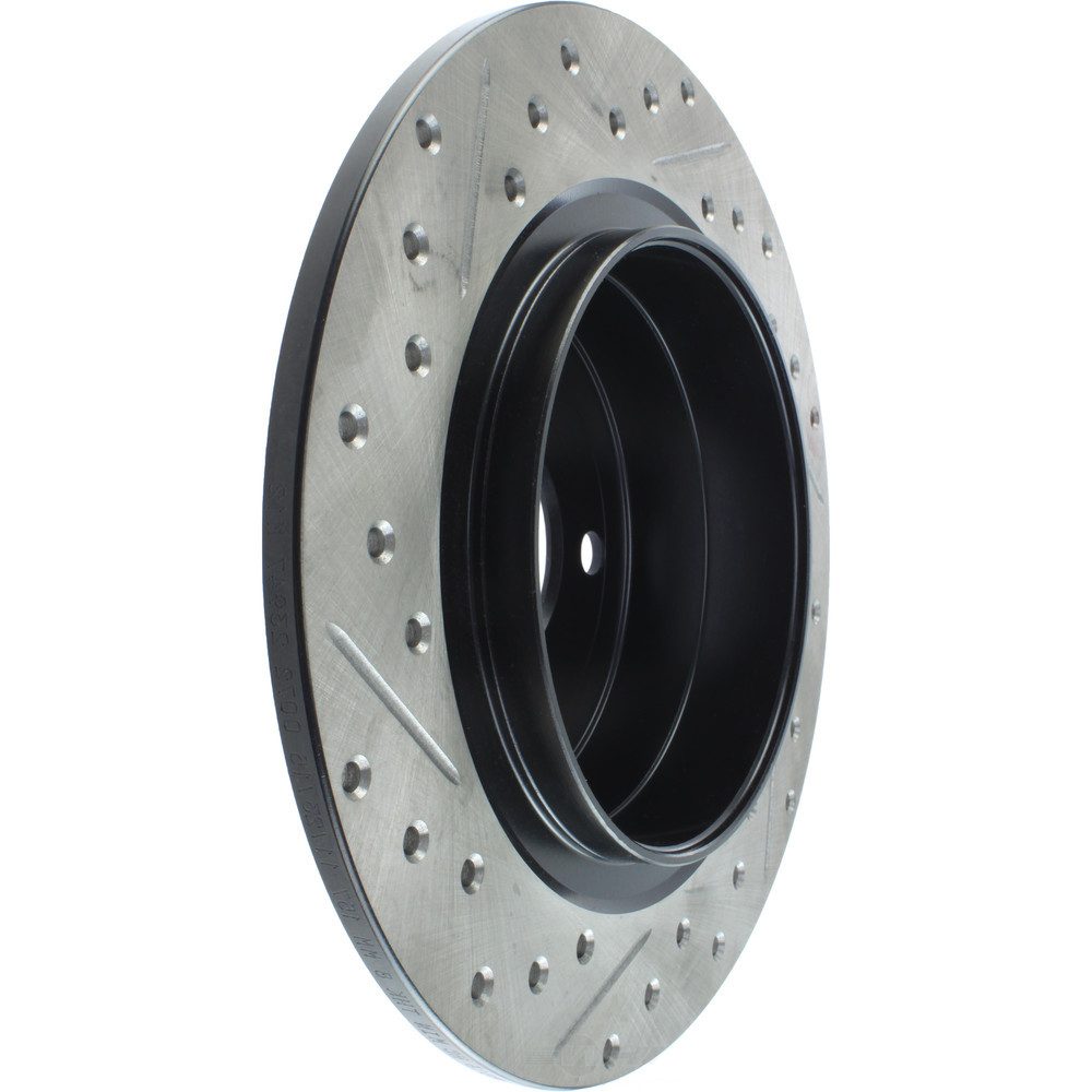 STOPTECH - StopTech Sport Drilled/Slotted Disc (Rear Left) - SOH 127.38013L