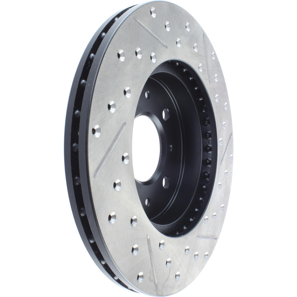 STOPTECH - StopTech Sport Drilled/Slotted Disc (Front Right) - SOH 127.40021R