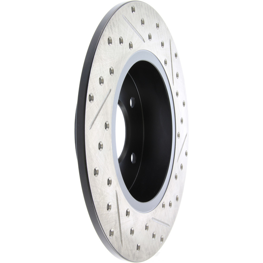 STOPTECH - StopTech Sport Cross-Drilled & Slotted Disc Brake Rotors (Rear Right) - SOH 127.42059R
