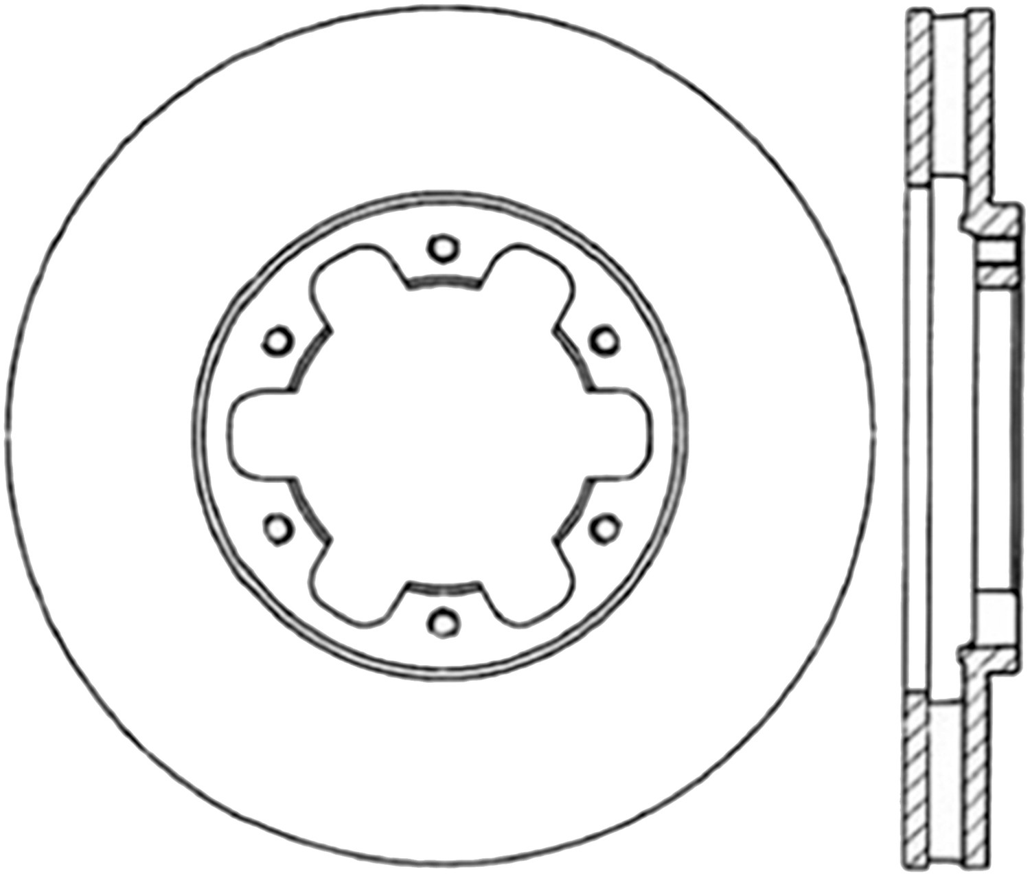 STOPTECH - StopTech Sport Cross-Drilled & Slotted Disc Brake Rotors - SOH 127.42063R