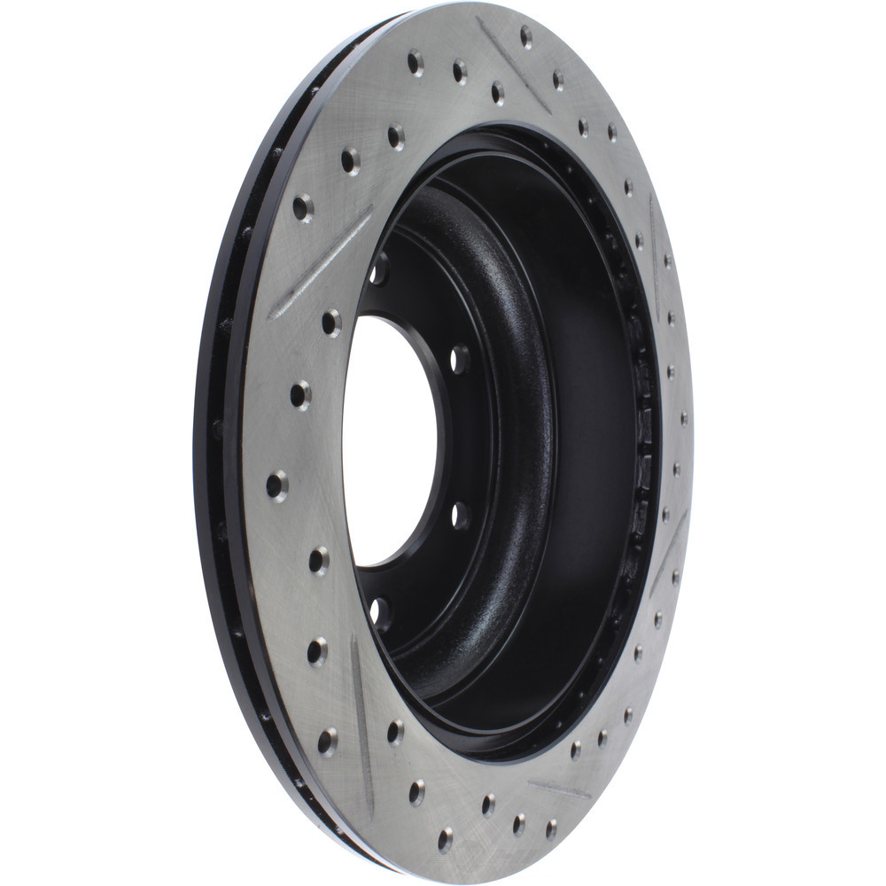 STOPTECH - StopTech Sport Cross-Drilled & Slotted Disc Brake Rotors (Rear Right) - SOH 127.43015R
