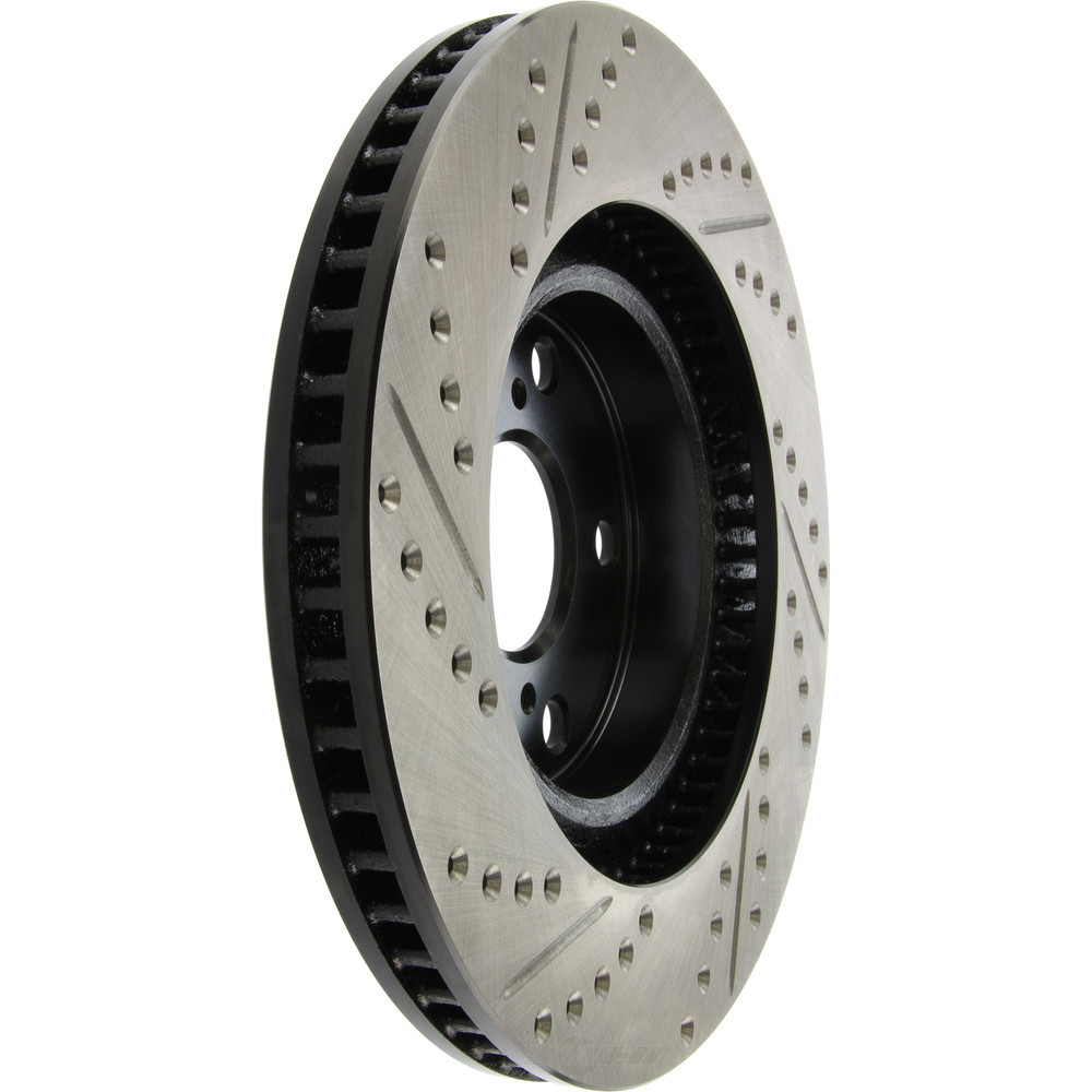 STOPTECH - StopTech Sport Drilled/Slotted Disc (Front Left) - SOH 127.44146L