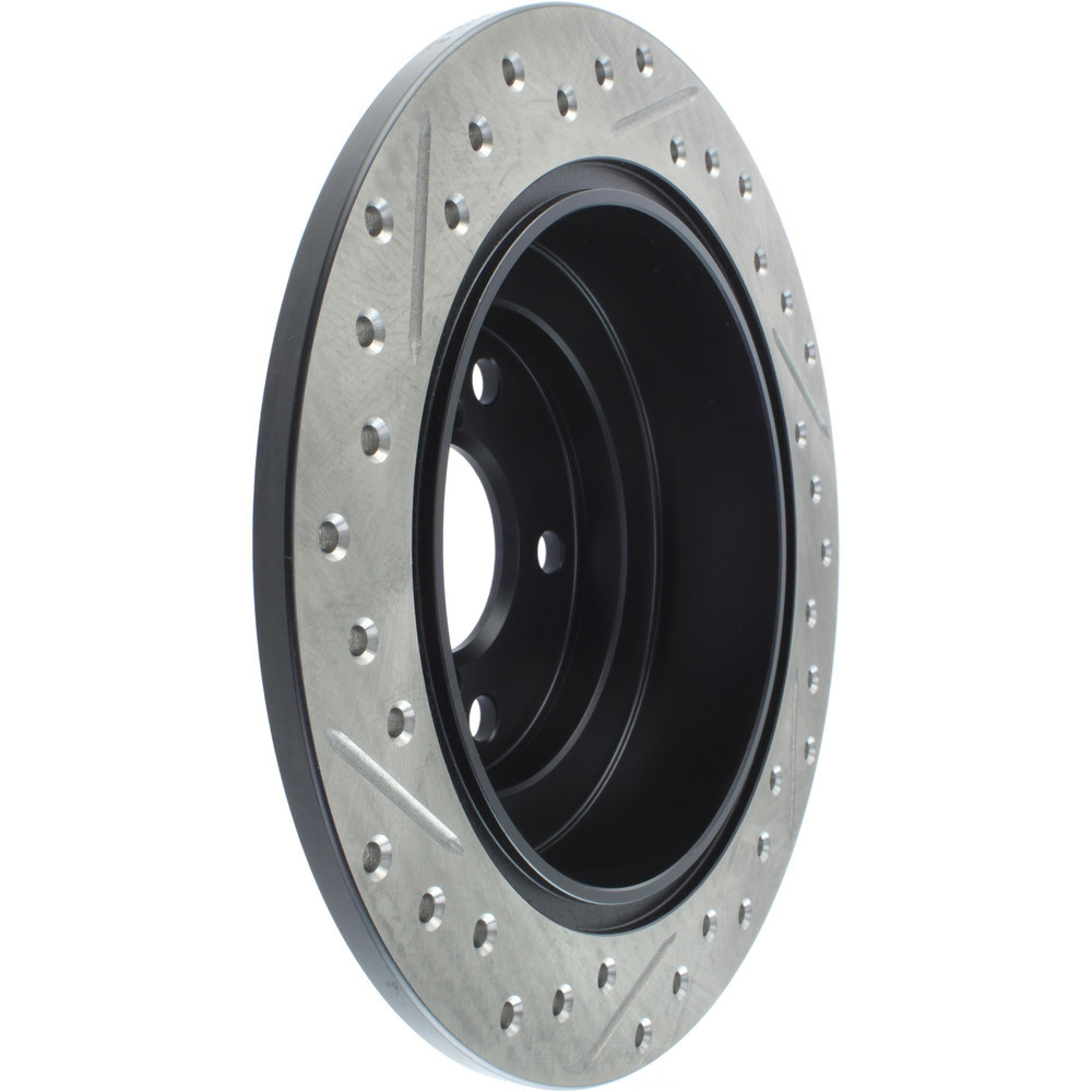 STOPTECH - StopTech Sport Drilled/Slotted Disc (Rear Left) - SOH 127.47011L