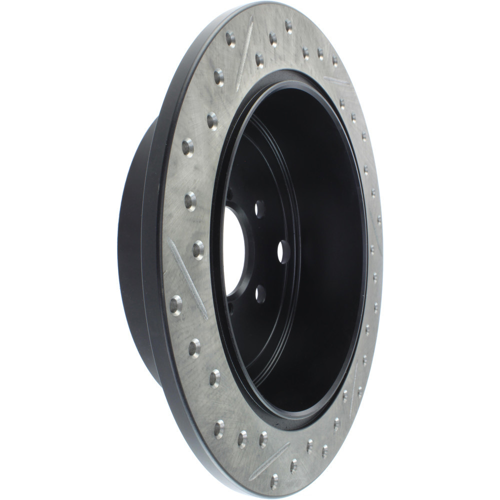 STOPTECH - StopTech Sport Cross-Drilled & Slotted Disc Brake Rotors (Rear Left) - SOH 127.47029L