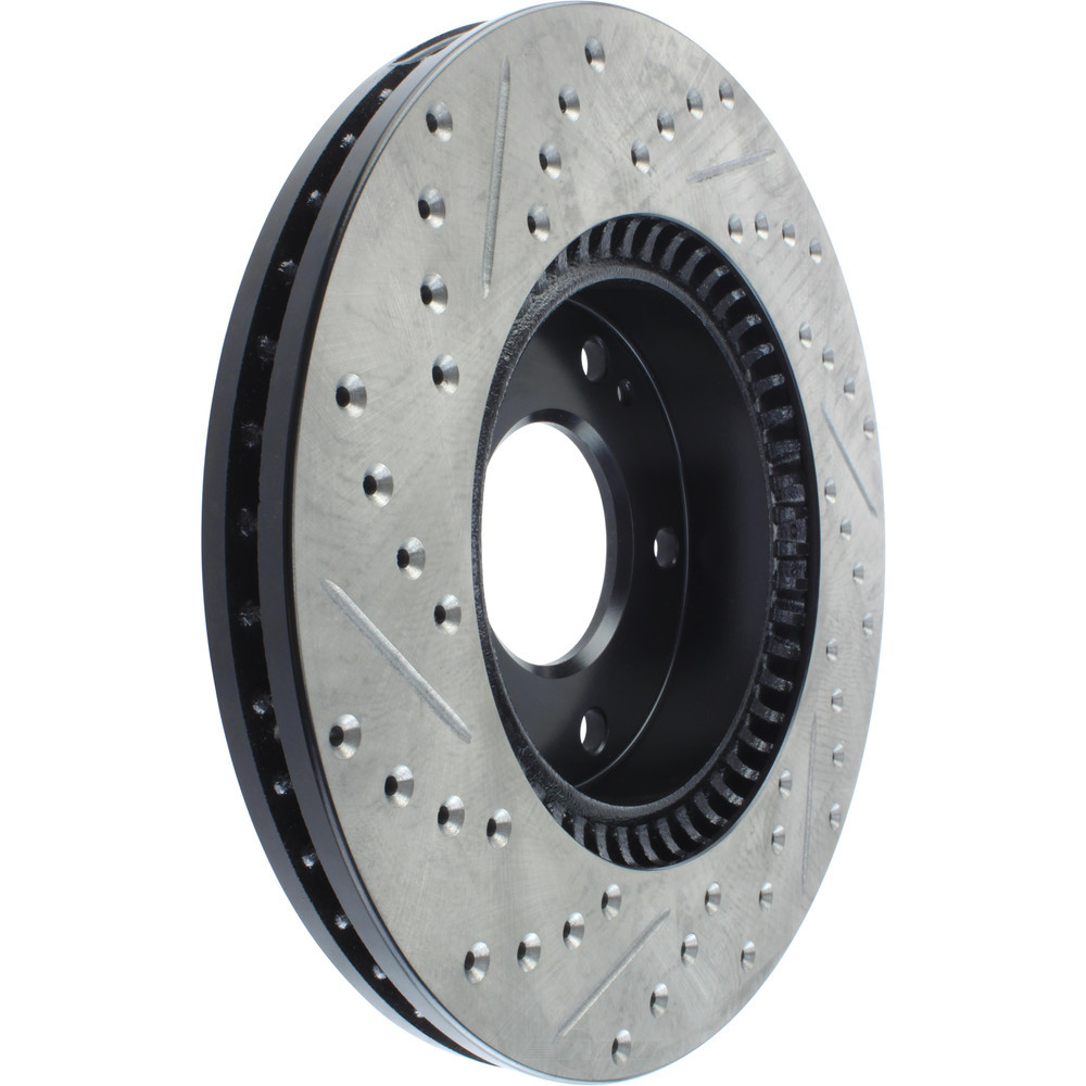 STOPTECH - StopTech Sport Drilled/Slotted Disc (Front Left) - SOH 127.51015L