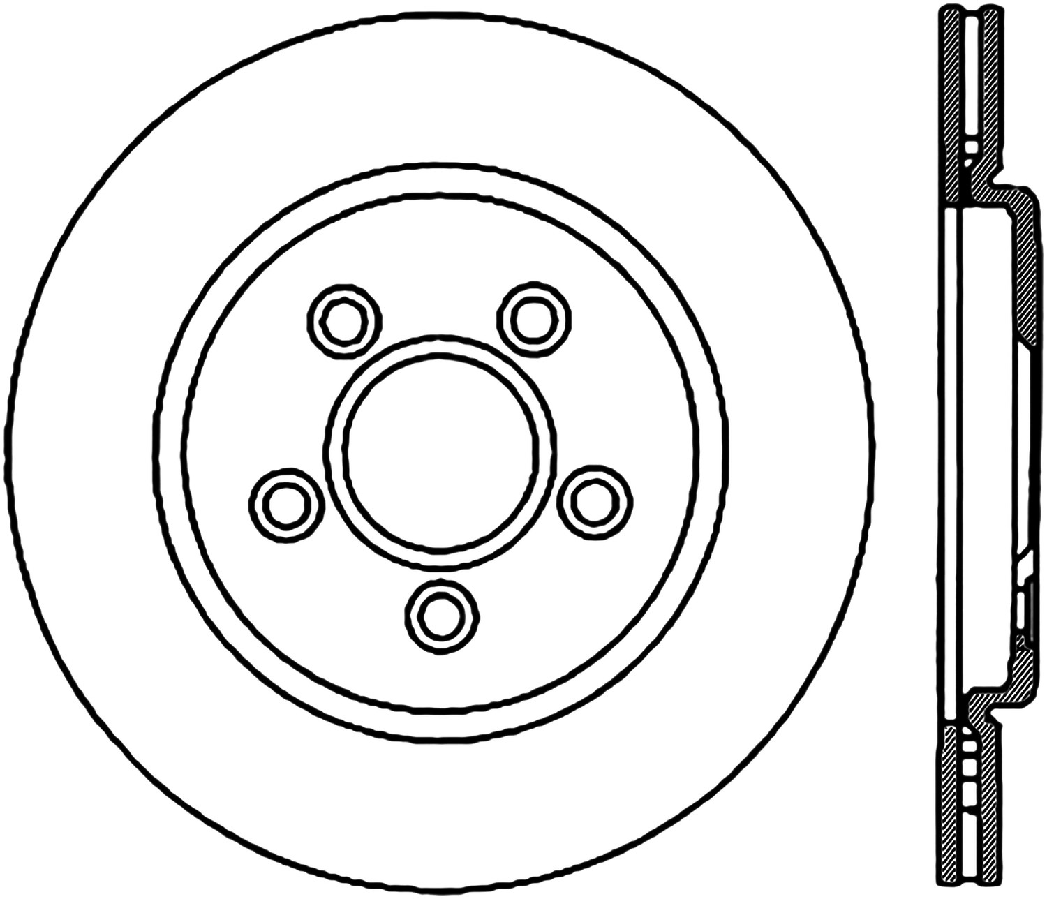 STOPTECH - StopTech Sport Cross-Drilled & Slotted Disc Brake Rotors - SOH 127.61062R
