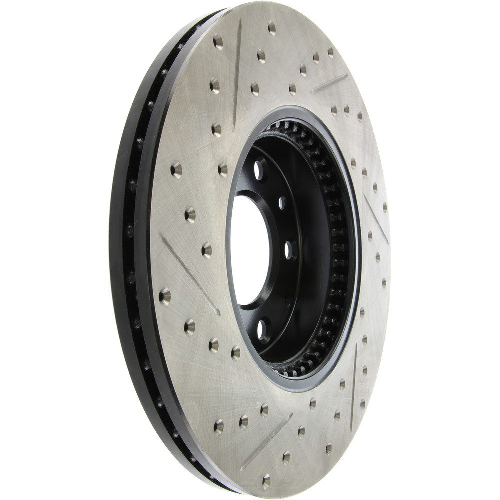 STOPTECH - StopTech Sport Drilled/Slotted Disc (Front Left) - SOH 127.61088L
