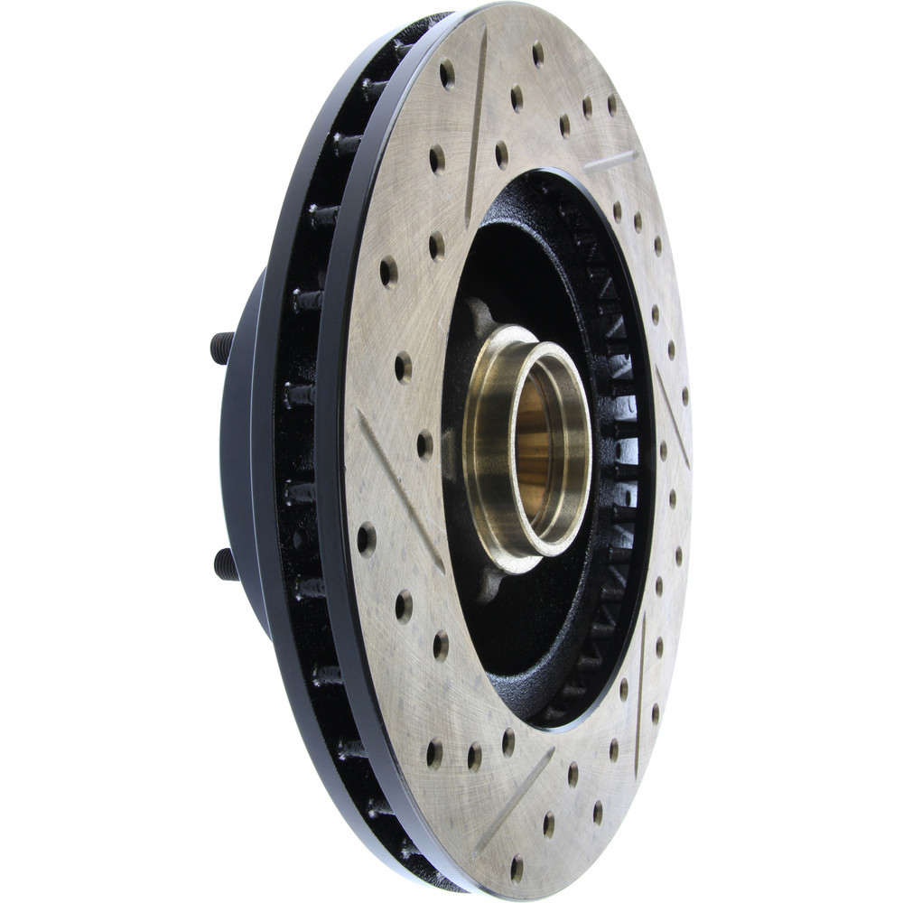 STOPTECH - StopTech Sport Drilled/Slotted Disc (Front Left) - SOH 127.62000L