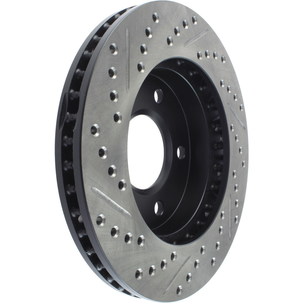STOPTECH - StopTech Sport Drilled/Slotted Disc (Front Left) - SOH 127.62017L
