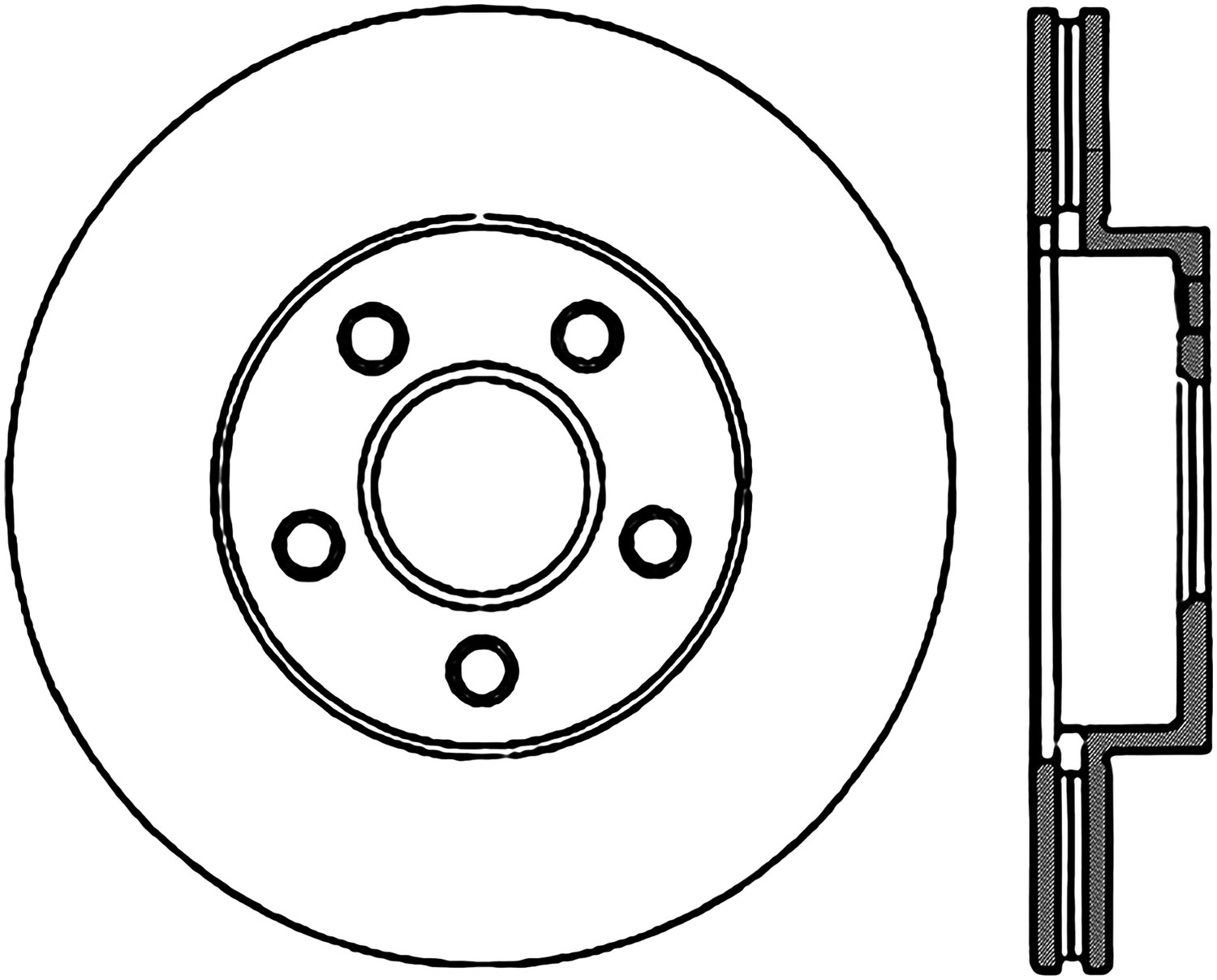 STOPTECH - StopTech Sport Drilled/Slotted Disc (Front Right) - SOH 127.62034R