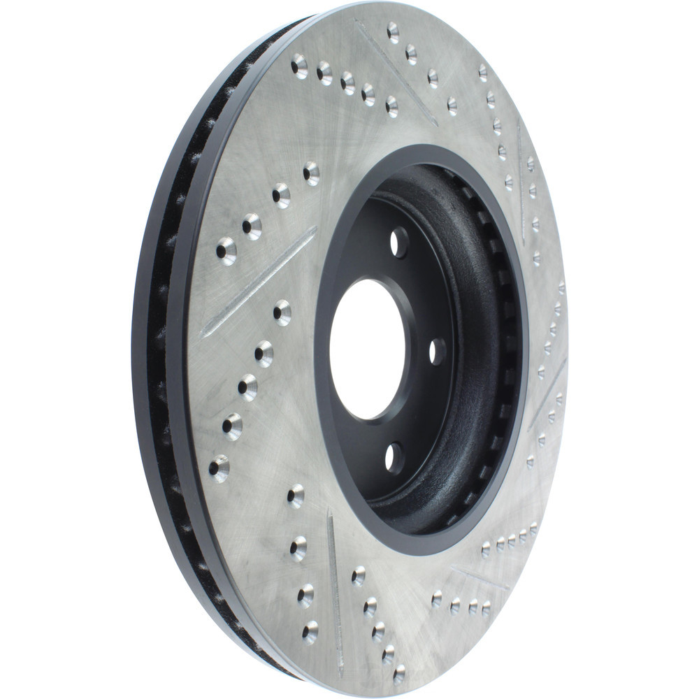 STOPTECH - StopTech Sport Drilled/Slotted Disc (Front Right) - SOH 127.62078R