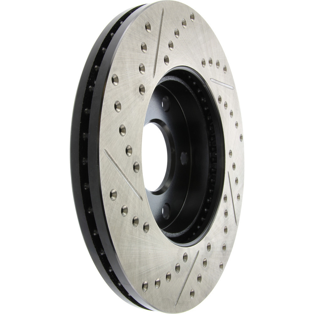 STOPTECH - StopTech Sport Drilled/Slotted Disc (Front Left) - SOH 127.62095L