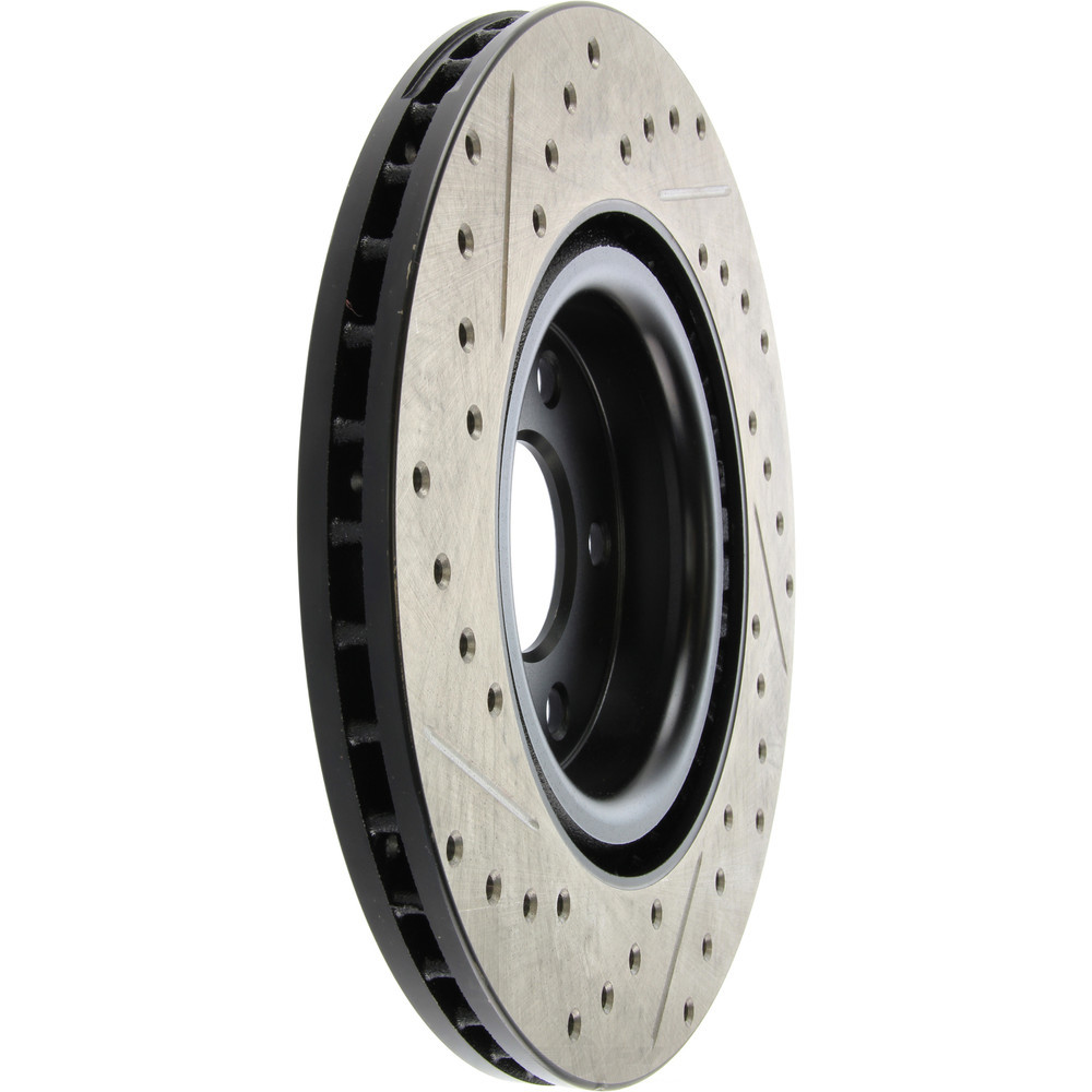 STOPTECH - StopTech Sport Drilled/Slotted Disc (Front Left) - SOH 127.62116L
