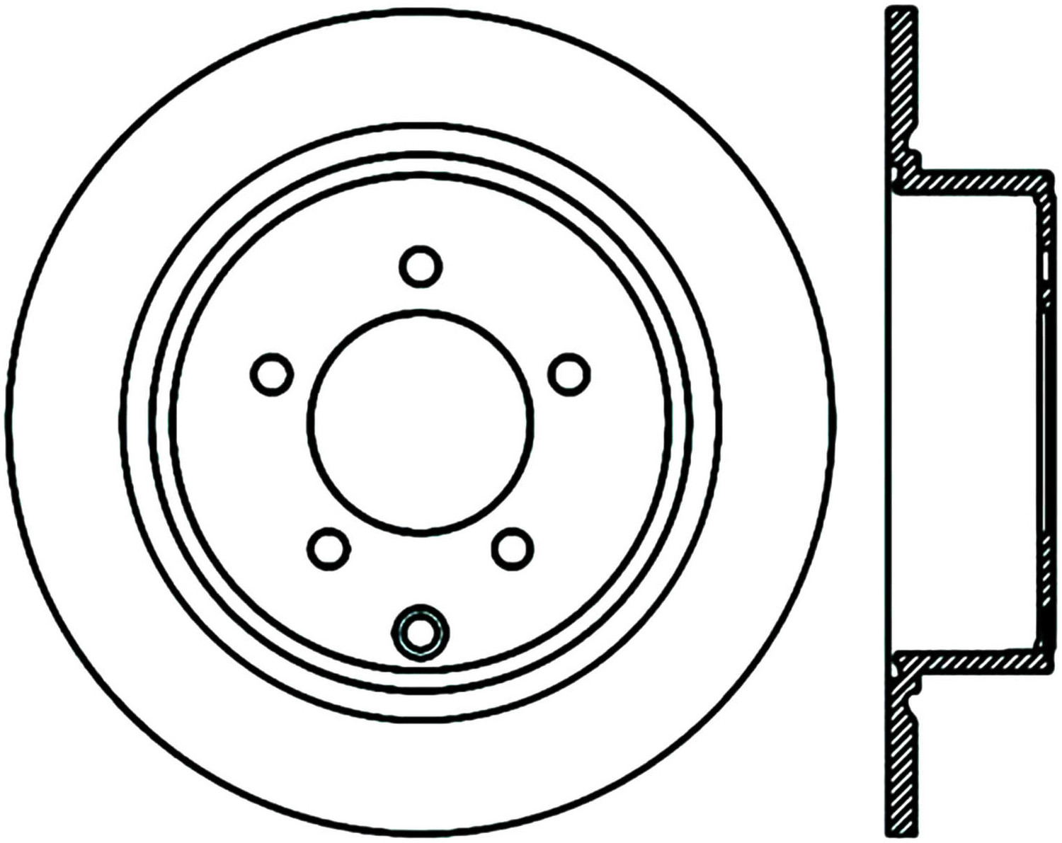 STOPTECH - StopTech Sport Cryo-Treated Cross-Drilled & Slotted Disc Brake Rotors (Rear Right) - SOH 127.63069CR