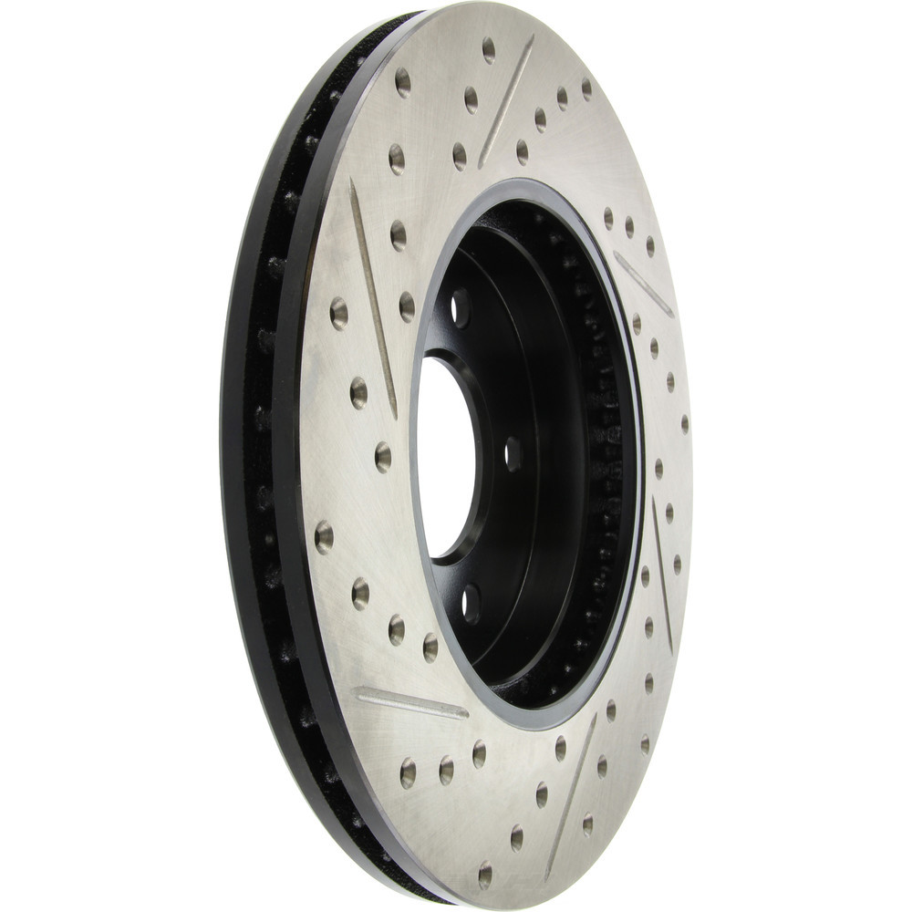 STOPTECH - StopTech Sport Drilled/Slotted Disc (Front Left) - SOH 127.65107L