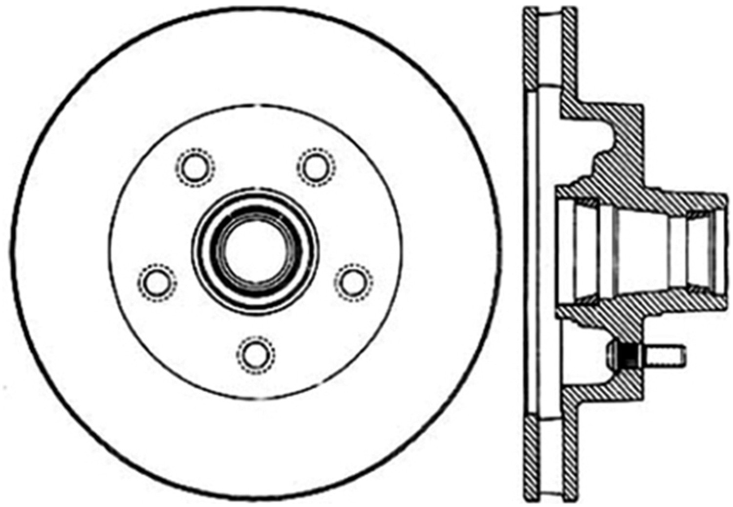 STOPTECH - StopTech Sport Drilled/Slotted Disc (Front Right) - SOH 127.66000R