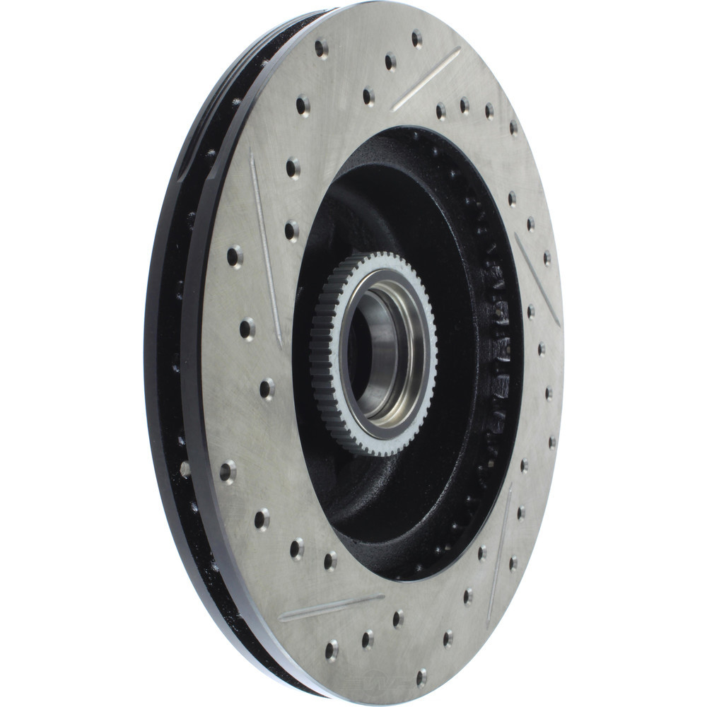 STOPTECH - StopTech Sport Drilled/Slotted Disc (Front Left) - SOH 127.66016L