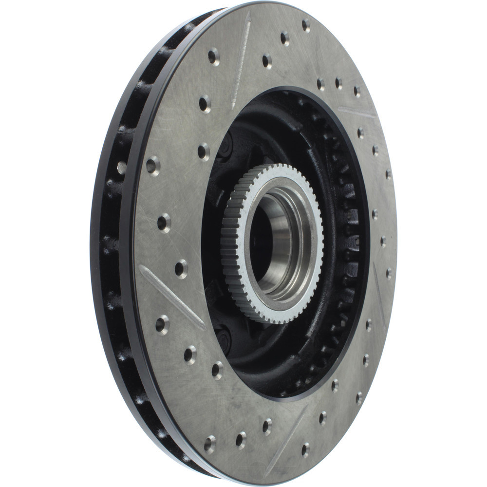 STOPTECH - StopTech Sport Drilled/Slotted Disc (Front Left) - SOH 127.66017L