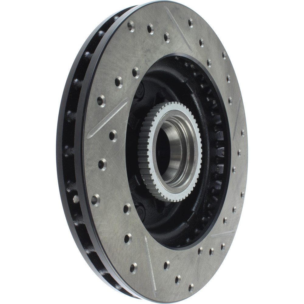 STOPTECH - StopTech Sport Drilled/Slotted Disc (Front Right) - SOH 127.66017R