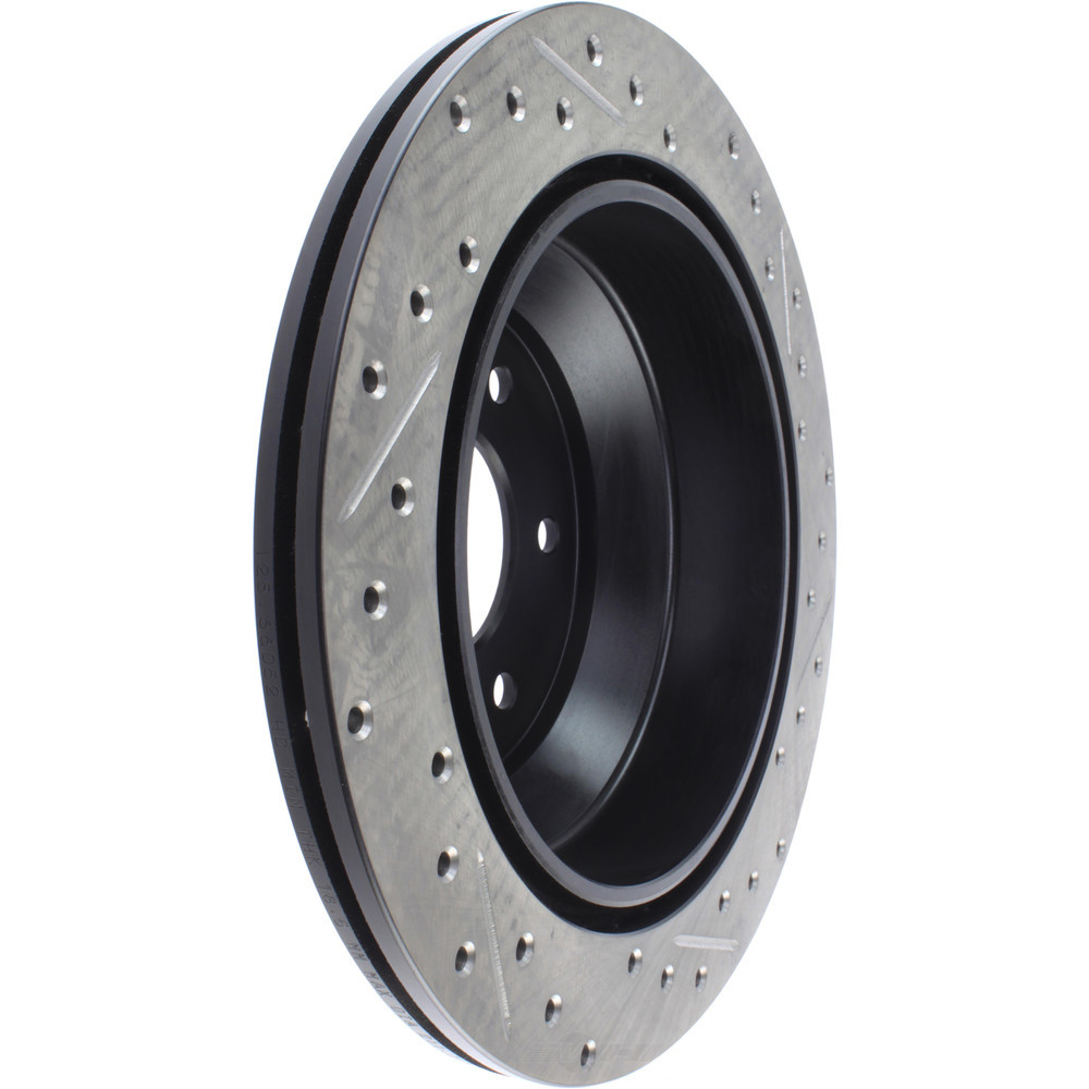 STOPTECH - StopTech Sport Drilled/Slotted Disc (Rear Right) - SOH 127.66052R