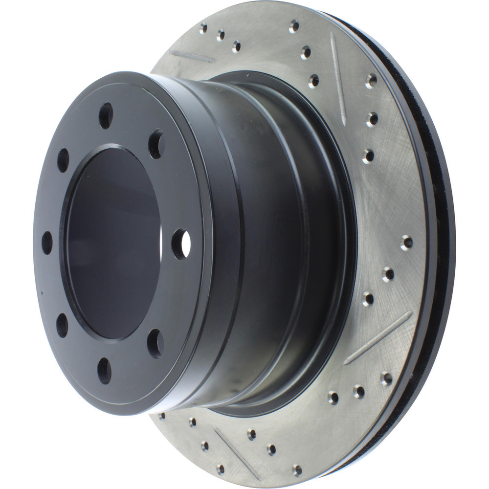 STOPTECH - StopTech Sport Cross-Drilled & Slotted Disc Brake Rotors - SOH 127.67062L