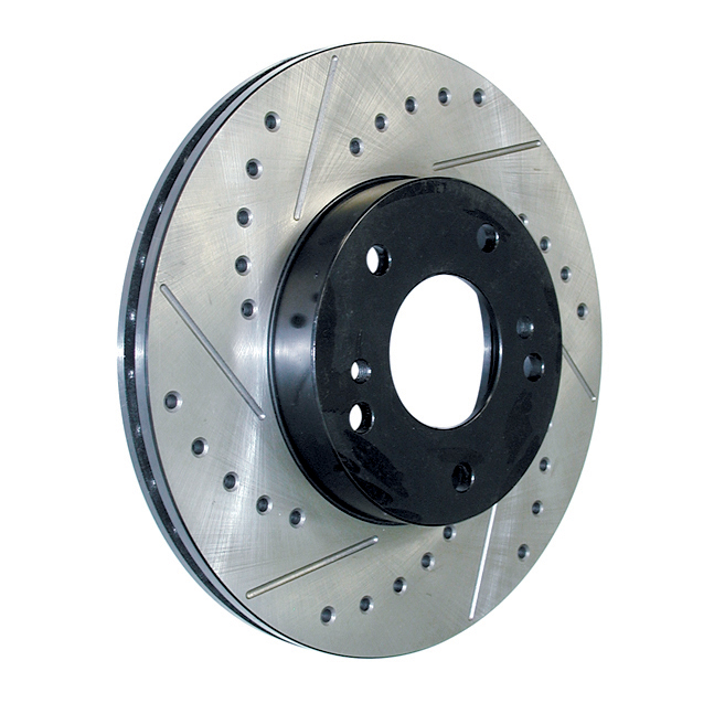 STOPTECH - StopTech Sport Drilled/Slotted Disc (Rear Right) - SOH 127.42054R