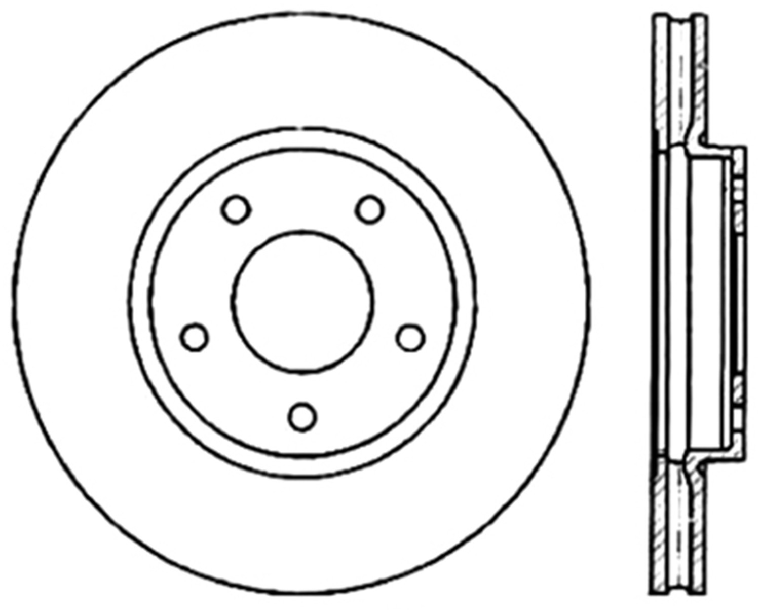STOPTECH - StopTech Sport Drilled Disc (Front Right) - SOH 128.20014R
