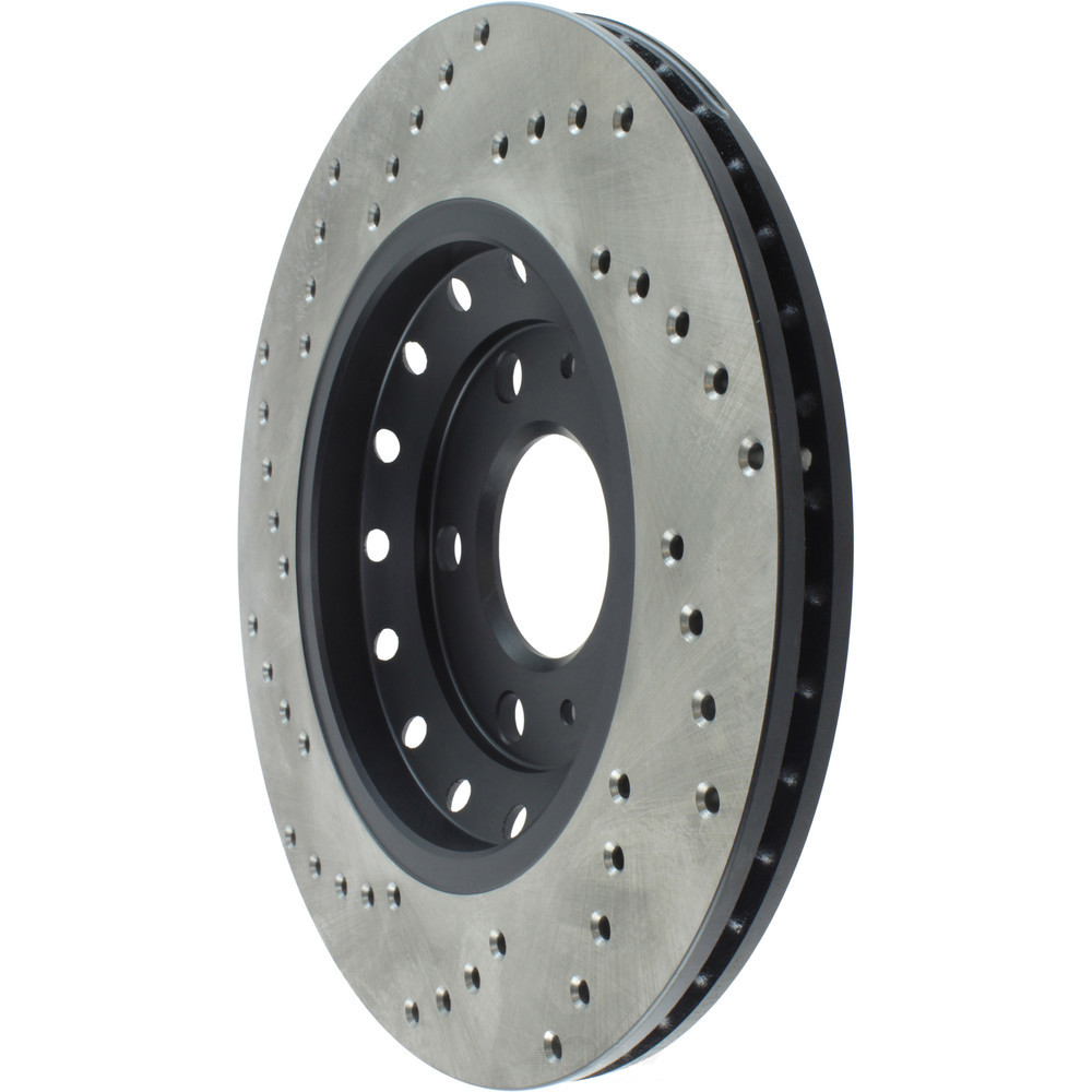 STOPTECH - StopTech Sport Cross-Drilled Disc Brake Rotors - SOH 128.33102L