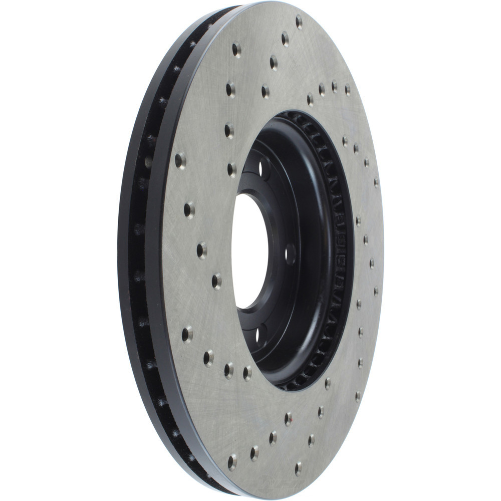 STOPTECH - StopTech Sport Cross-Drilled Disc Brake Rotors - SOH 128.38016L