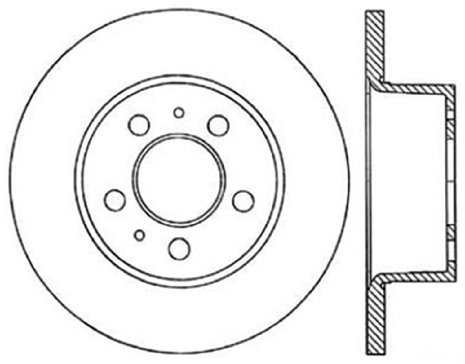 STOPTECH - StopTech Sport Cross-Drilled Disc Brake Rotors - SOH 128.39000L