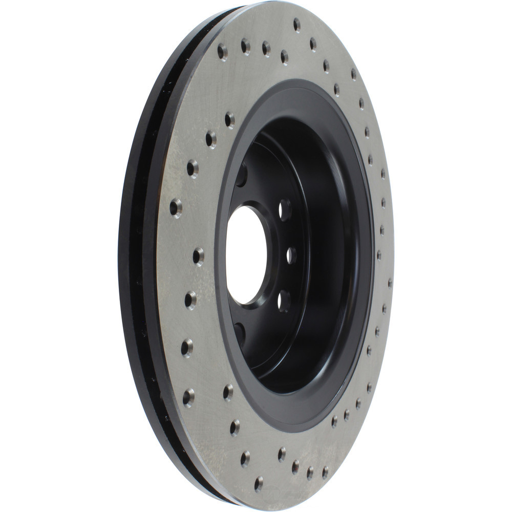 STOPTECH - StopTech Sport Cross-Drilled Disc Brake Rotors - SOH 128.39047R