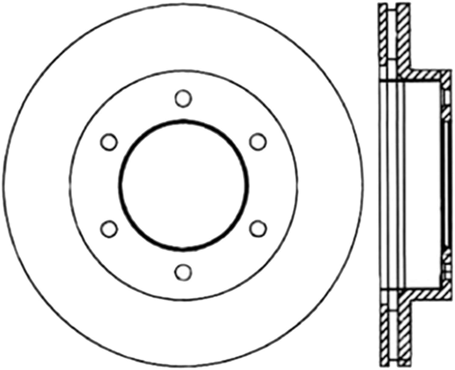 STOPTECH - StopTech Sport Drilled Disc (Front Right) - SOH 128.43018R