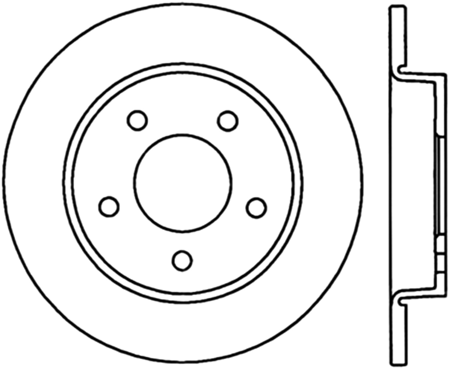 STOPTECH - StopTech Sport Cross-Drilled Disc Brake Rotors - SOH 128.45066L