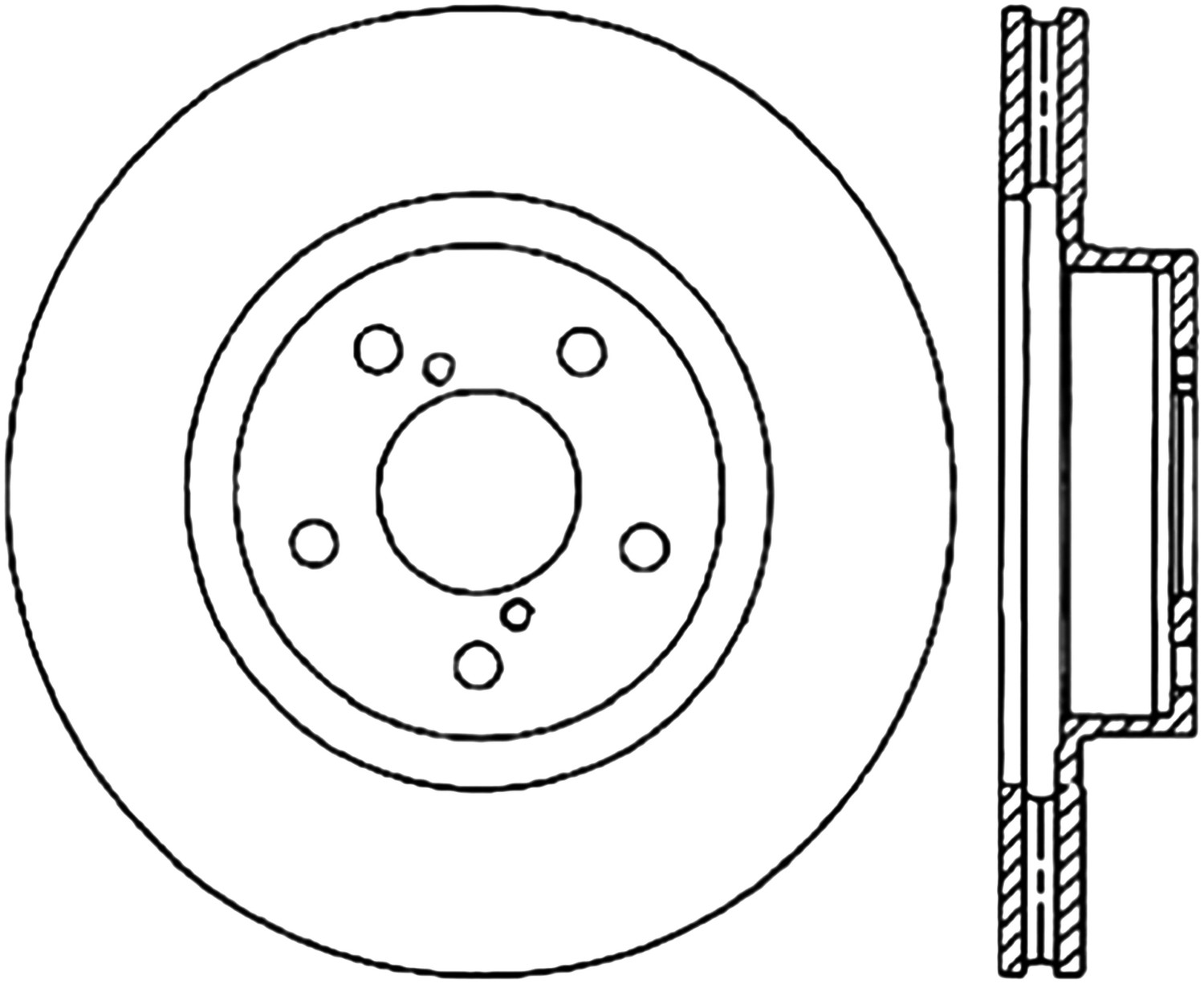 STOPTECH - StopTech Sport Cryo Drilled Disc (Front Right) - SOH 128.47021CR