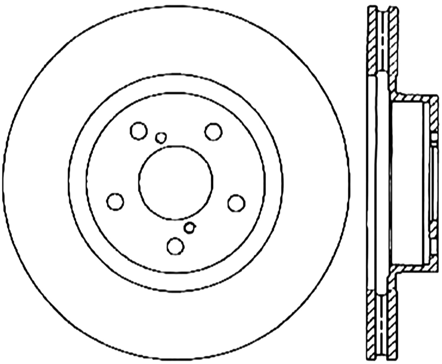 STOPTECH - StopTech Sport Drilled Disc (Front Right) - SOH 128.47024R