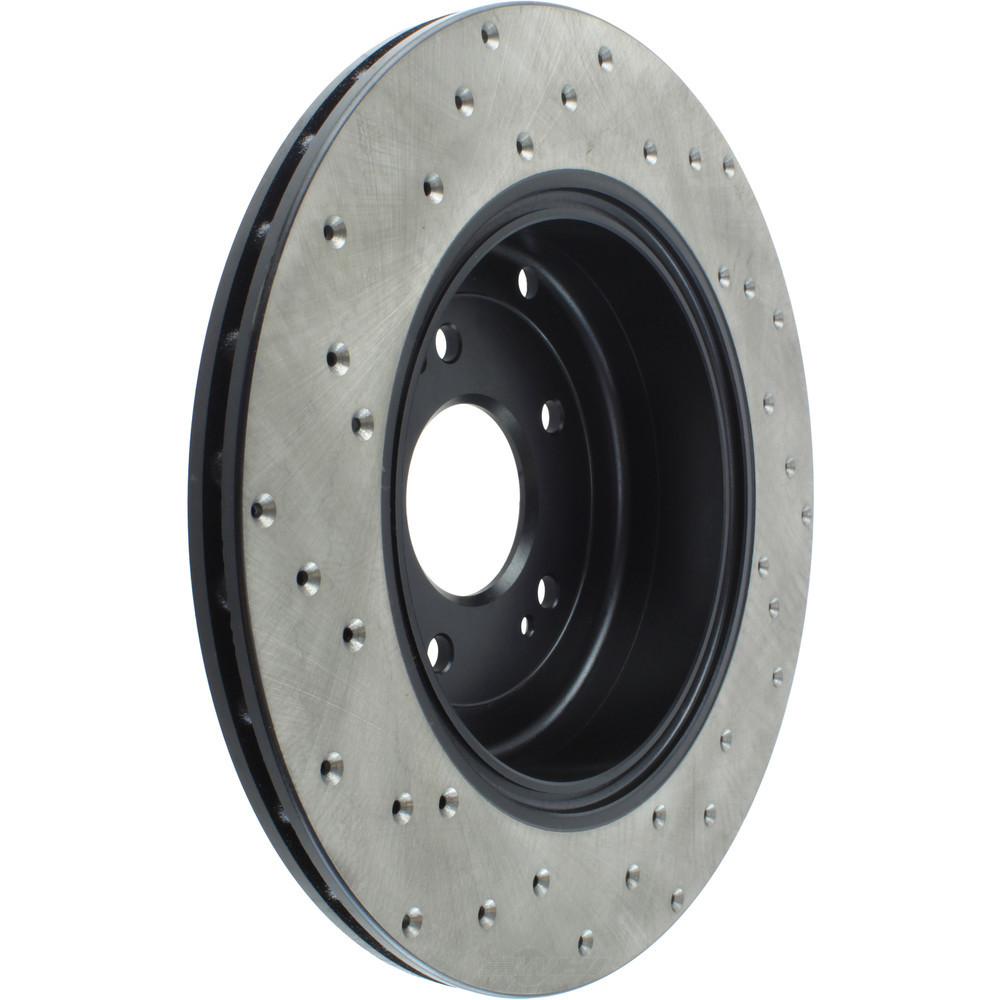 STOPTECH - StopTech Sport Cross-Drilled Disc Brake Rotors - SOH 128.51035L