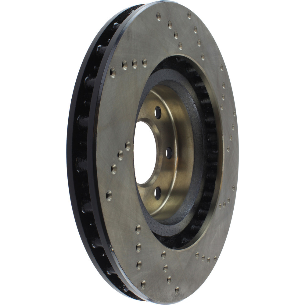 STOPTECH - StopTech Sport Cross-Drilled Disc Brake Rotors - SOH 128.63036R