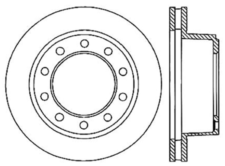 STOPTECH - StopTech Sport Drilled Disc (Front Right) - SOH 128.66018R