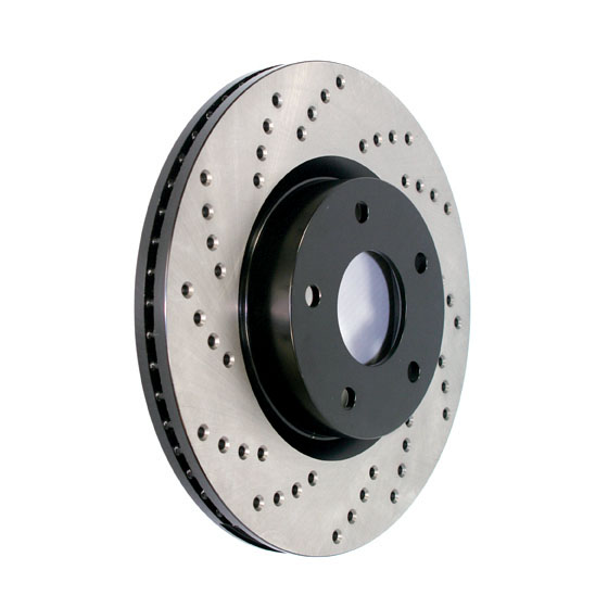 STOPTECH - StopTech Sport Drilled Disc (Rear Right) - SOH 128.33057R