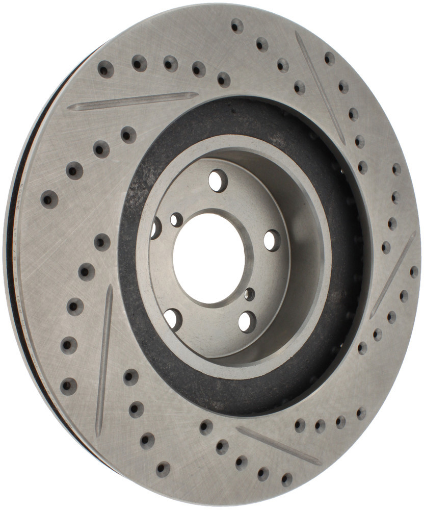 STOPTECH - Select Sport Drilled/Slotted Rotor (Front Right) - SOH 227.47018R