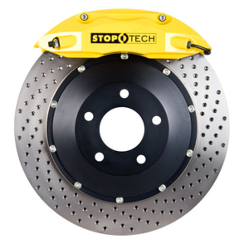 STOPTECH - Yellow Caliper \/ Drilled Rotor - SOH 83.893.4300.82