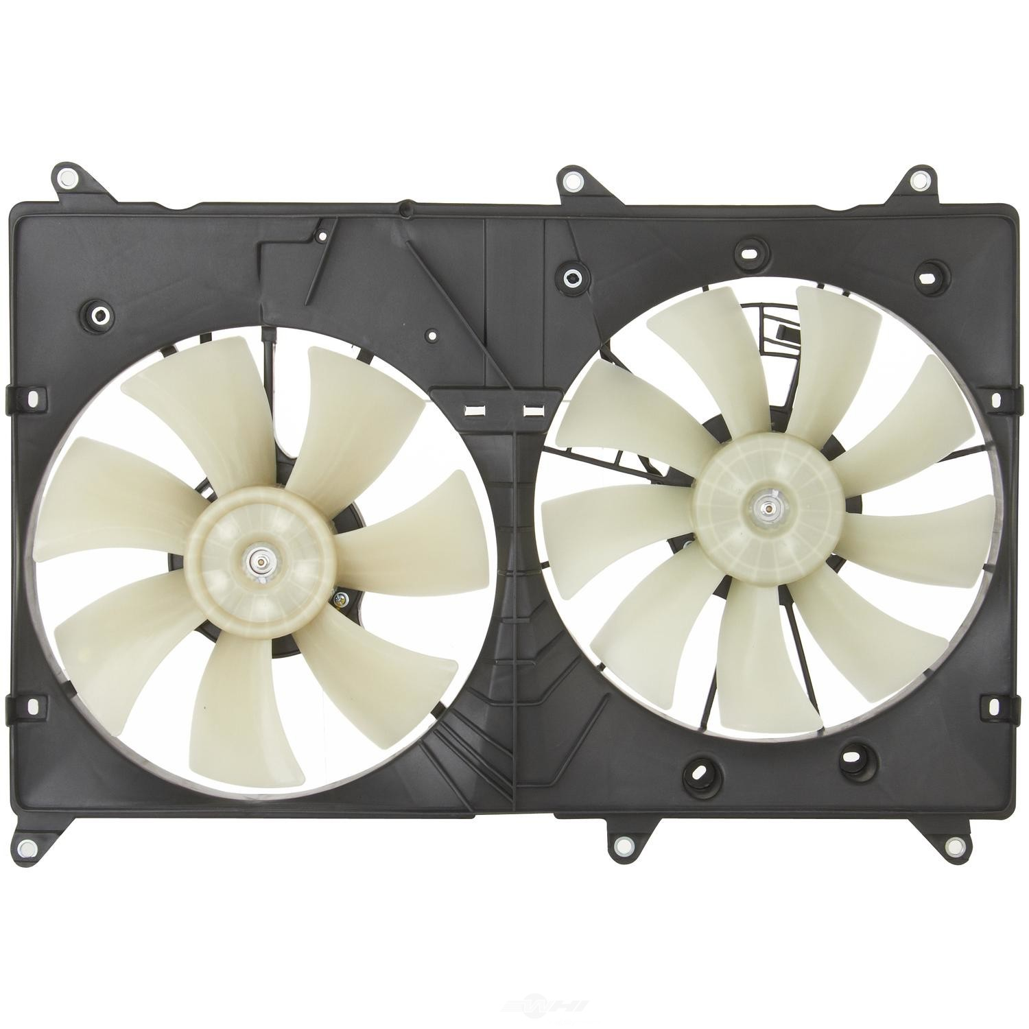 SPECTRA PREMIUM IND, INC. - Dual Radiator and Condenser Fan Assembly - SPC CF20034