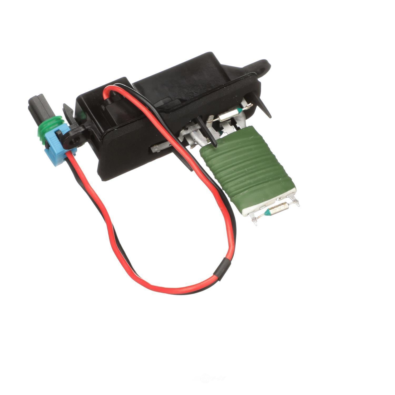 STANDARD MOTOR PRODUCTS - Hvac Blower Motor Resistor (Front) - STA RU-51