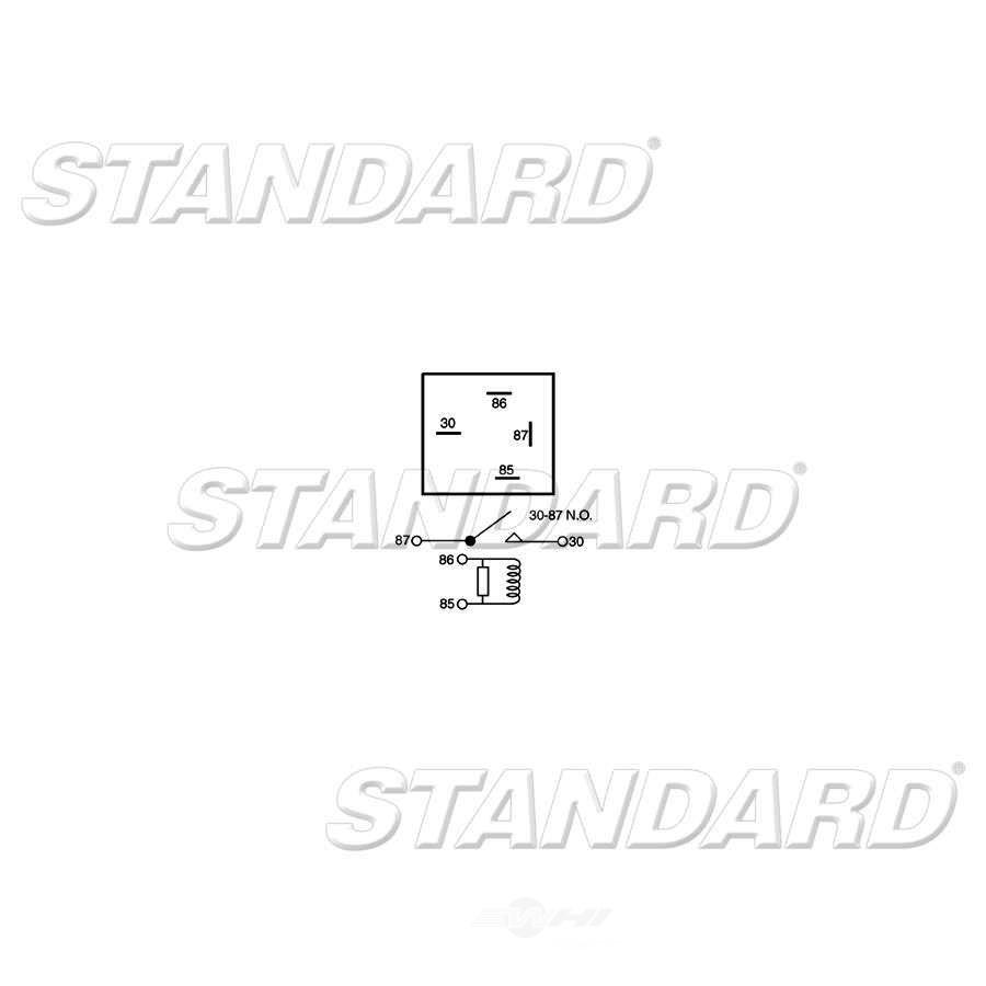 STANDARD MOTOR PRODUCTS - Rear Window Defogger Relay - STA RY-255