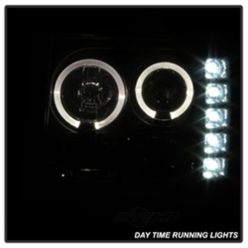 SPYDER AUTO - Halo Led Projector Headlights - SYA 5078506