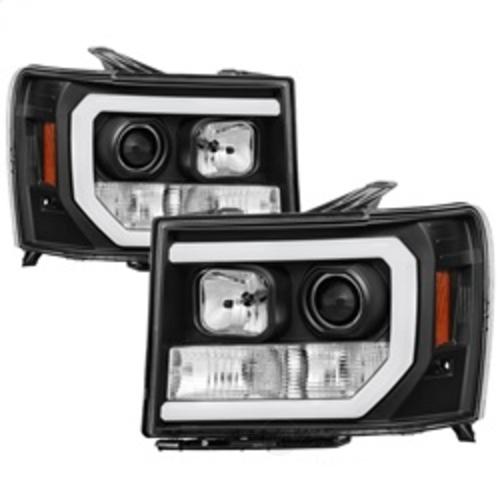 SPYDER AUTO - Light Bar Drl Led Projector Headlights - SYA 5083630