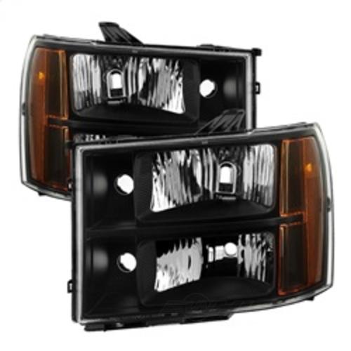 SPYDER AUTO - Xtune Crystal Headlights - SYA 9034749