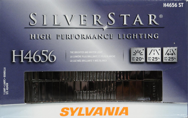 SYLVANIA - Sylvania SilverStar (Low Beam) - SYL H4656ST