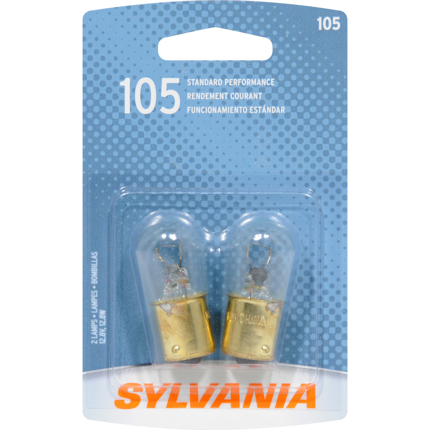 SYLVANIA RETAIL PACKS - Blister Pack Twin Trunk or Cargo Area Light - SYR 105.BP2