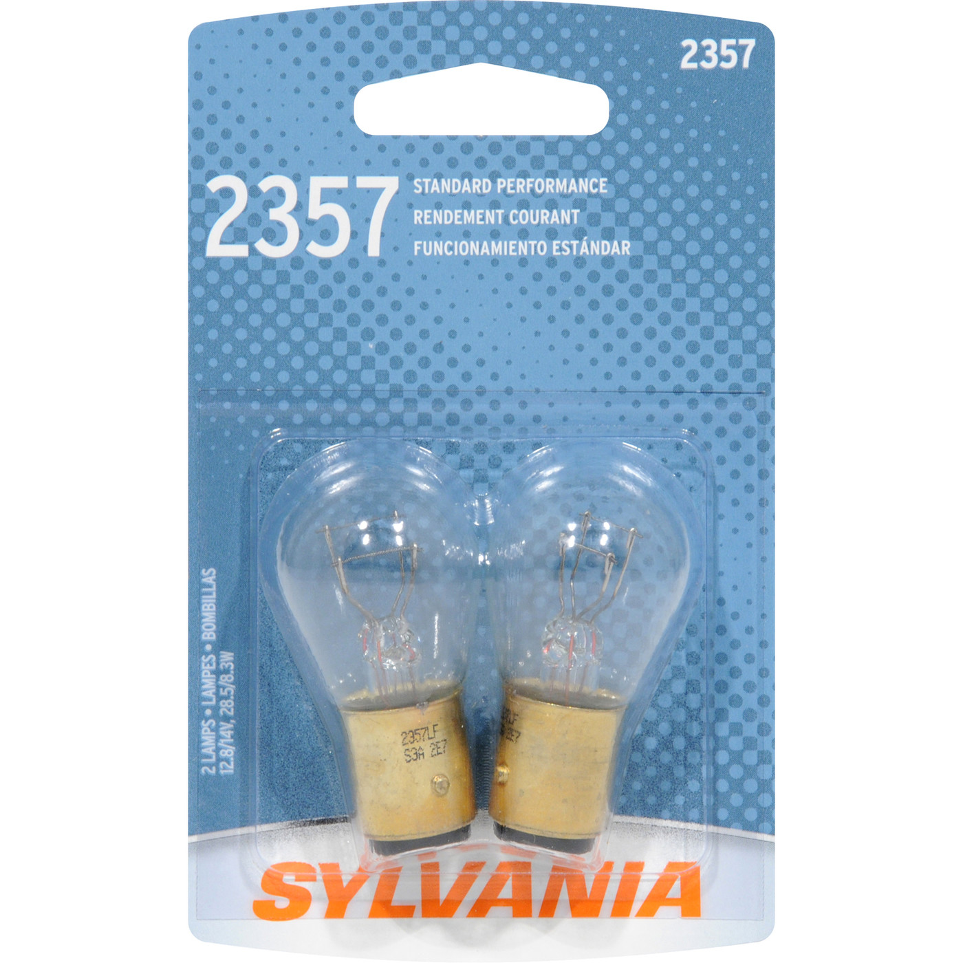 SYLVANIA RETAIL PACKS - Brake Light Bulb - SYR 2357.BP2